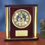 Large Clock with Exposed Gears Employee Awards